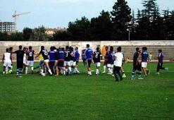 Afyonspor ile Arap takımı arasındaki kavgada 4 yaralı