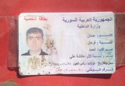 PKKnın sabotajcısı öldürüldü Üzerinden Suriye kimliği çıktı...