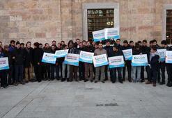 Bursada Ulu Camide namaz sonrası Kudüs protestosu