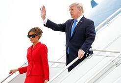 Donald Trump  Çok tehlikeli yer'e indi