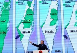 Cumhurbaşkanı Erdoğandan ABDye tarihi cevap İsrail bir işgal devletidir...