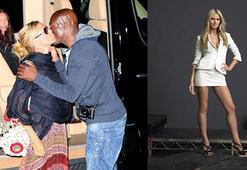 Onlar öpüştü Erica baktı