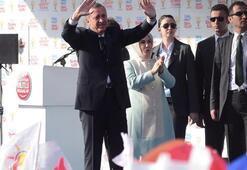 Erdoğan İzmirde konuştu