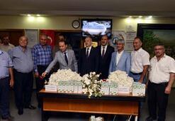 Adanada yılın ilk kütlü pamuğunun satışı yapıldı