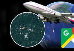 MH370 sefer sayılı kayıp Malezya uçağı Google Mapste bulundu