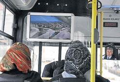Belediye otobüsleri BBG evi gibi olacak