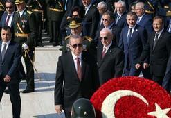 Erdoğan, Anıtkabir Özel Defterine yazdığı mesajında  15 Temmuz vurgusu yaptı