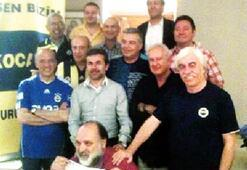 Ünlü Fenerbahçelilerin 'Kocaman' buluşması