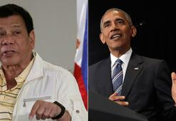 Obama kendisine küfreden Duterte ile görüşmeyecek