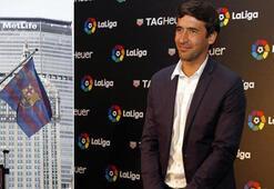 Barcelonanın, ABDdeki ofisinin açılışına Real Madrid efsanesi Raul katıldı