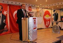Adalet Partisi ilk amblemiyle yeniden siyasete dönüyor