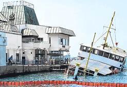 Müzelik gemilerle YOLCU TAŞINIYOR