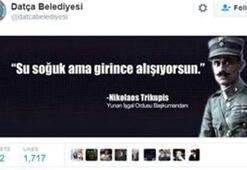 Datça Belediyesi tepki çeken tweeti sildi