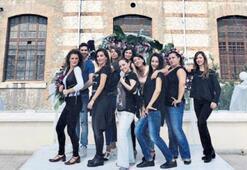 Flamenko bienalinde İstanbul videosu