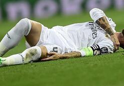 Real Madridde Ramosun omzu çıktı