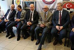 Trabzonspor Kulübünde bayramlaşma töreni yapıldı