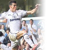 'Bale, Real'de forma giymeli'