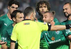 Bursaspor 6 haftada maçların sadece 3ünü 11 kişi  tamamlayabildi