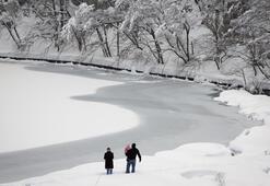 Avrupa dondurucu soğukların etkisinde
