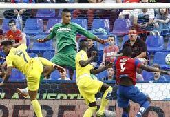 La Ligada Villareal yenildi ama zirveyi bırakmadı