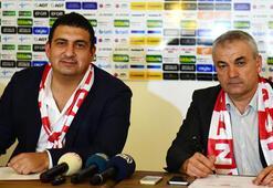 Rıza Çalımbay Antalyaspora 2 yıllık imzayı attı