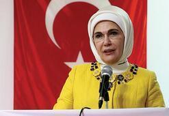 Emine Erdoğan, TİKAnın Malide yenilediği okulu gezdi