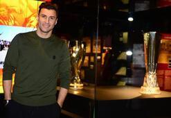 Lorik Cana, Galatasaray Müzesini gezdi