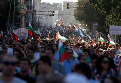 Bulgaristanda hükümet karşıtı gösteriler 5inci gününde