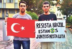 'Diren Brezilya; bu kavgada biz birlikteyiz'