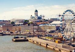 Finlandiyada renkli bir kışa ne dersiniz