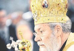 Rum Kilisesi Başpiskoposu çözüme karşı bayrak açtı
