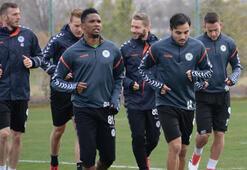 Konyaspor, Malatyaspor maçına hazırlanıyor