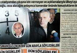 Hacıosmanoğlu raconu bıraktı, geri vitese taktı