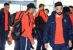 Trabzonspora Başekşehir maçı için İstanbula gitti