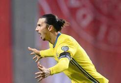 İsveçin gol makinesi Ibrahimovic