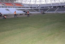 Malatyada çim serme işlemi tamamlandı