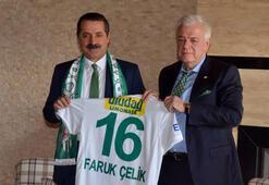 """Faruk Çelik: """"Bursa'yı en güzel Bursaspor'un tanıtabilir"""""""