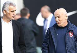 Trabzonsporda başkan Hacıosmanoğlu takımın F.Bahçe maçı öncesi yalnız bırakmıyor
