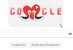 Googledan 14 Şubat Sevgililer Gününe özel Doodle