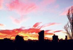 Gökyüzünün büyüleyici renkleri
