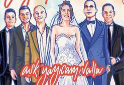 Klipte evlendiler