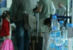 Uçaklarda sıvı kısıtlaması yarın başlıyor