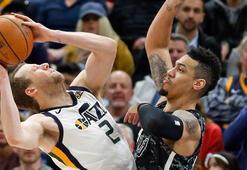 Utah Jazz galibiyet serisini 10 maça çıkardı