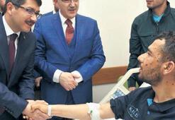 Başkan Çelik, Afrin Gazisi'ni unutmadı