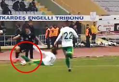 Acımasız faulü yapan Berkaya 3 maç ceza