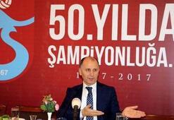 Trabzonsporun yeni başkanı Muharrem Usta Resmen...