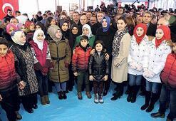 Halep'e 211 TIR'la  yardım malzemesi