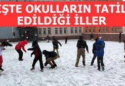 Ankara ve İstanbulda okullar tatil edildi mi