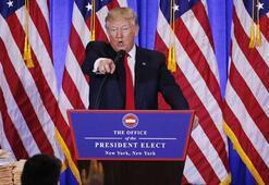 Trump ABD sınırına duvar örecek