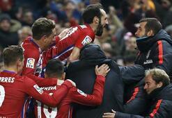 Atletico Madrid, Barçayı yakaladı